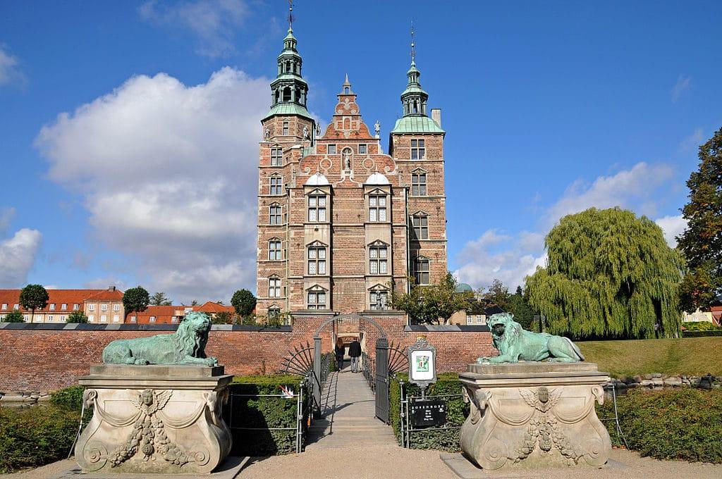 Chateau de Rosenberg à Copenhague.