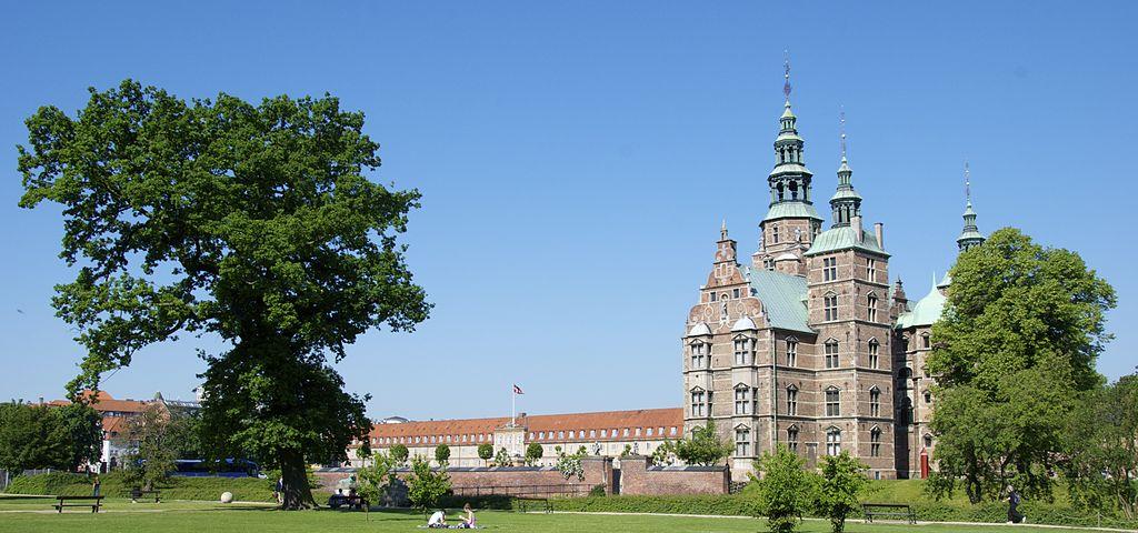 Jardin de Rosenborg, le jardin du roi à Copenhague [Indre By]