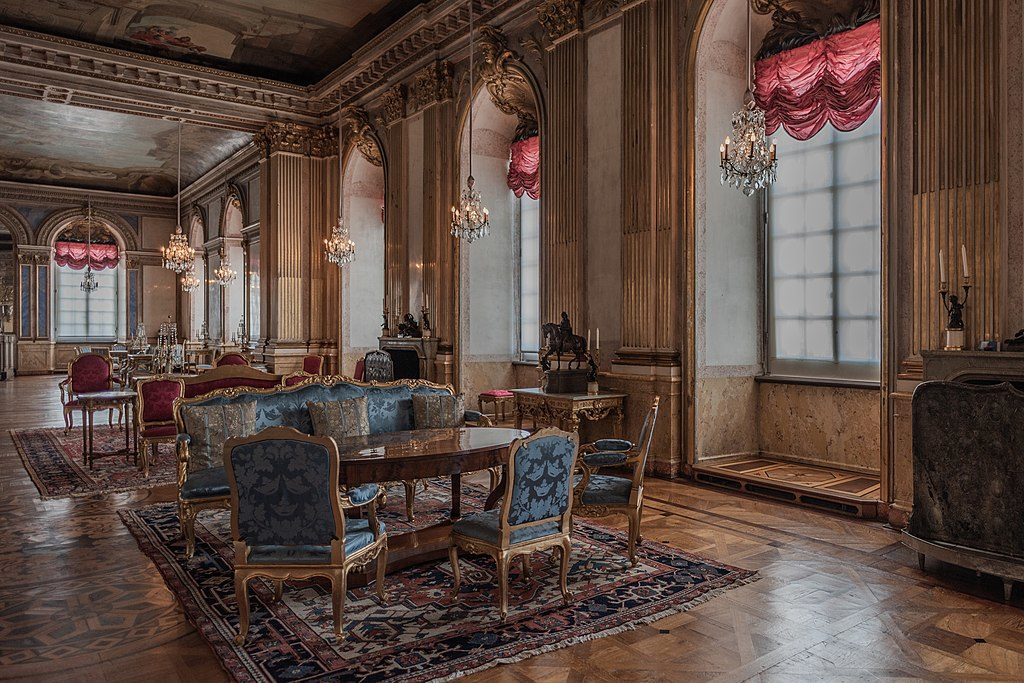 Dans le palais de Stockholm -  Photo de Bengt Nyman