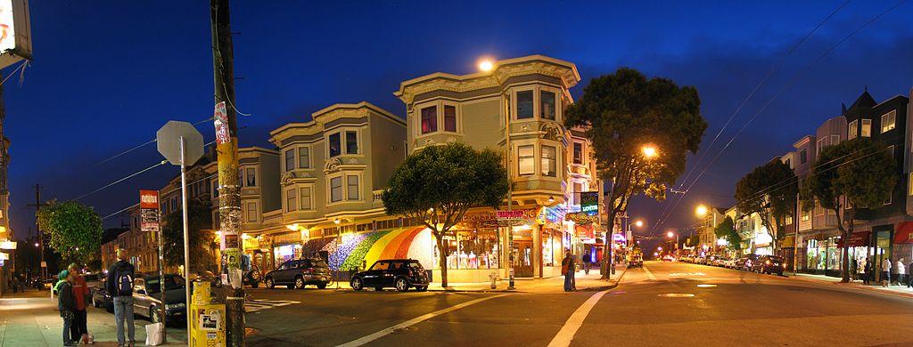 Haight Ashbury, ex quartier hippie de San Francisco