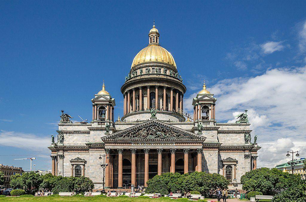 Cathédrale Saint-Isaac de Saint-Pétersbourg - Photo d'Alex Florstein Fedorov / Wiki Commons