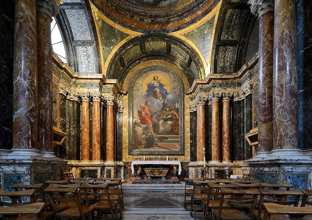 Chapelle Cybo dans l'église Santa Maria del Popolo à Rome - Photo de LivioAndronico