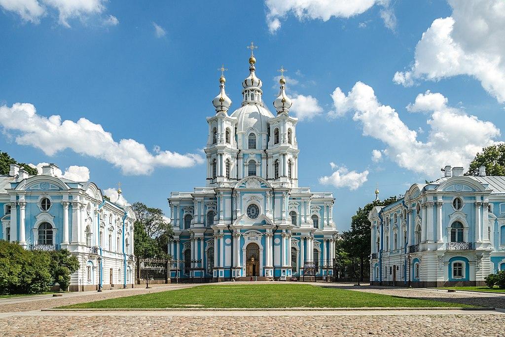 Cathédrale Smolny à Saint Petersbourg