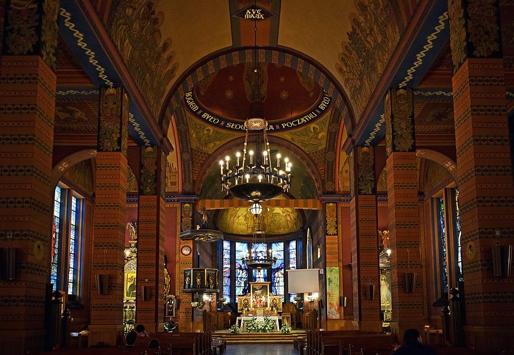 Eglise Saint Stéphane (Sw Szczepana) de Cracovie . Photo de Zetpe0202