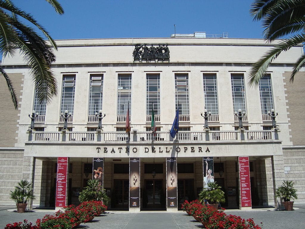 Opéra de Rome : Teatro dell'Opera - Photo LPLT Wikicommons