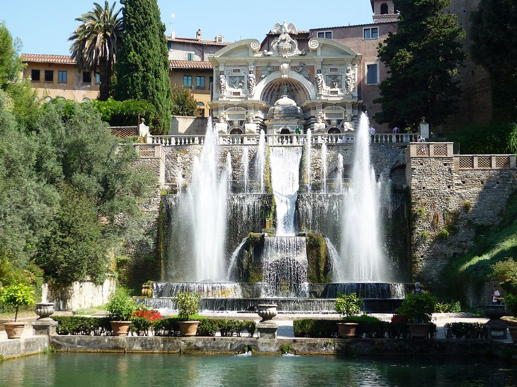 Villa d'Este à Tivoli : Incroyables jardins et fontaines près de Rome
