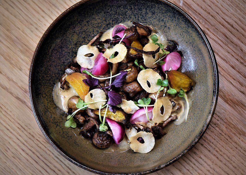 Manger à Stockholm : Plats colorés du restaurant Urban Garden - Photo de Bymarcussamuelsson