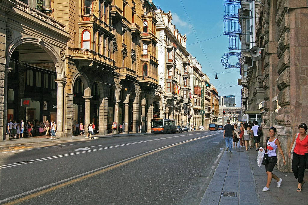 quartier de san vincenzo g nes le centre ville moderne vanupied. Black Bedroom Furniture Sets. Home Design Ideas