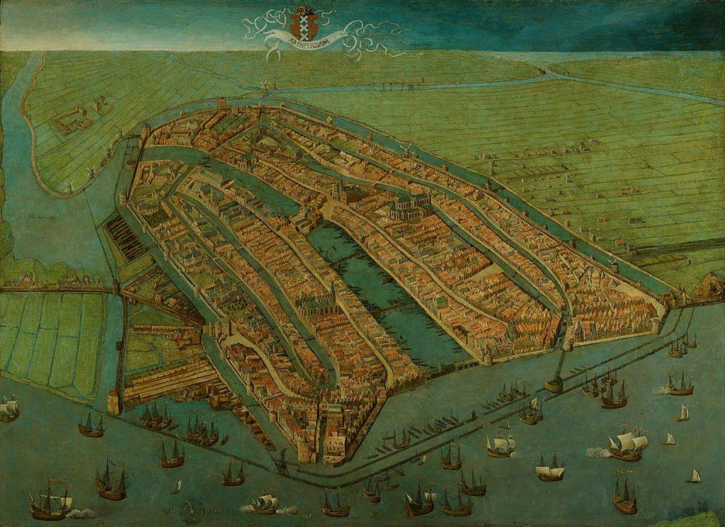 Fondation d'Amsterdam : Naissance d'une ville