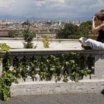Janicule à Rome : Vue panoramique sur la ville éternelle [Trastevere]