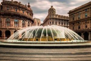 Piazza De Ferrari, monumentale place de Gênes [San Vincenzo]