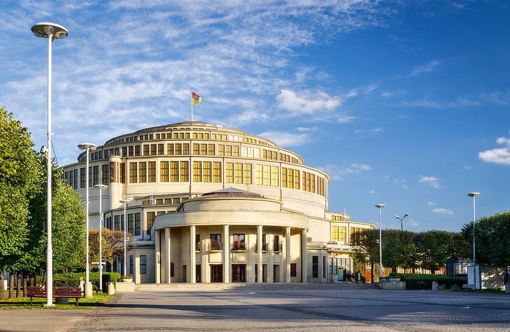 Halle du centenaire (Hala Stulecia) à Wroclaw et son musée [Srodmiescie]