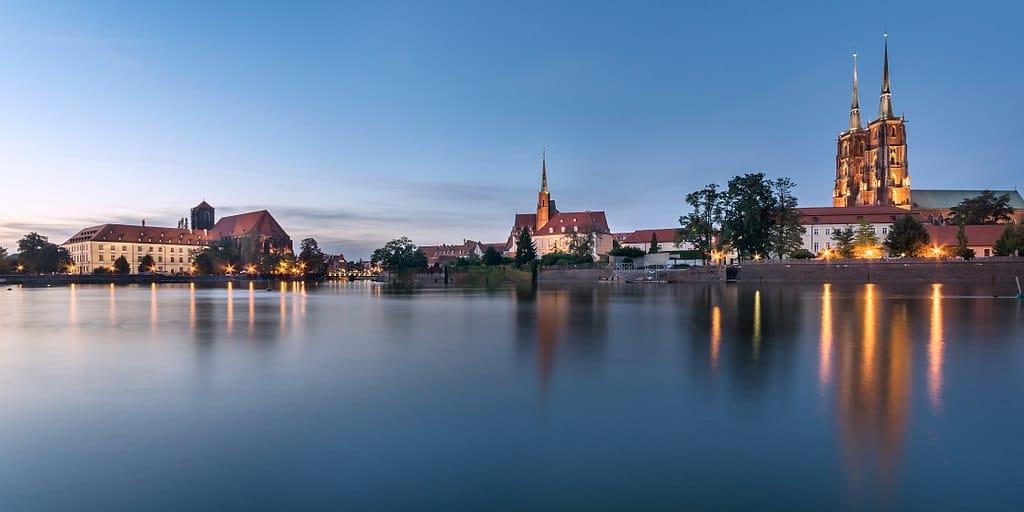 Iles de Wroclaw, le coeur le plus ancien de la cité [Vieille Ville]