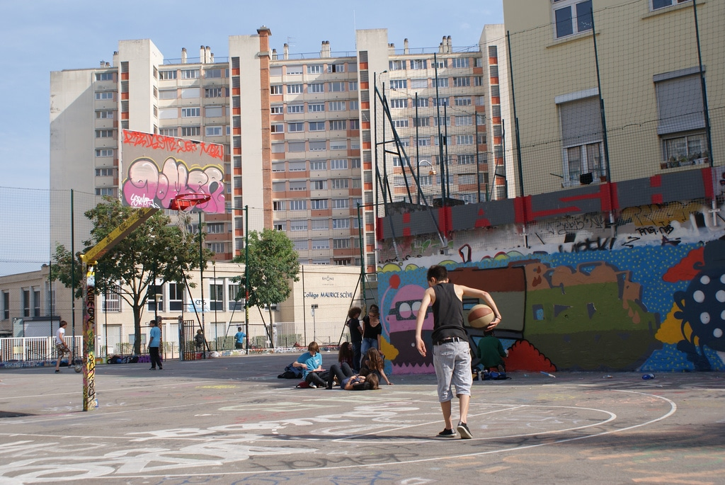 Playground : Où jouer au basket à Lyon ?