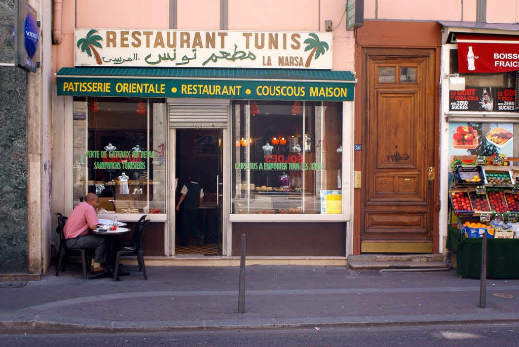 Restaurant tunisien la Marsa à Lyon : Cuisine arabe [Terreaux]
