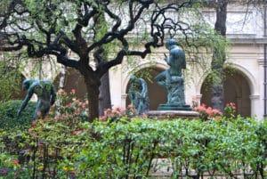 Jardin du palais Saint Pierre à Lyon : Incontournable !