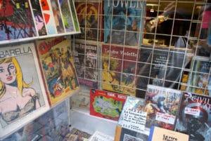 Disquaire et Librairie Boul'dingue : BD, musiques et films [Vieux Lyon]