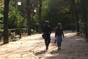 Jardin du Rosaire : Balade romantique au dessus de Lyon [Fourvière]