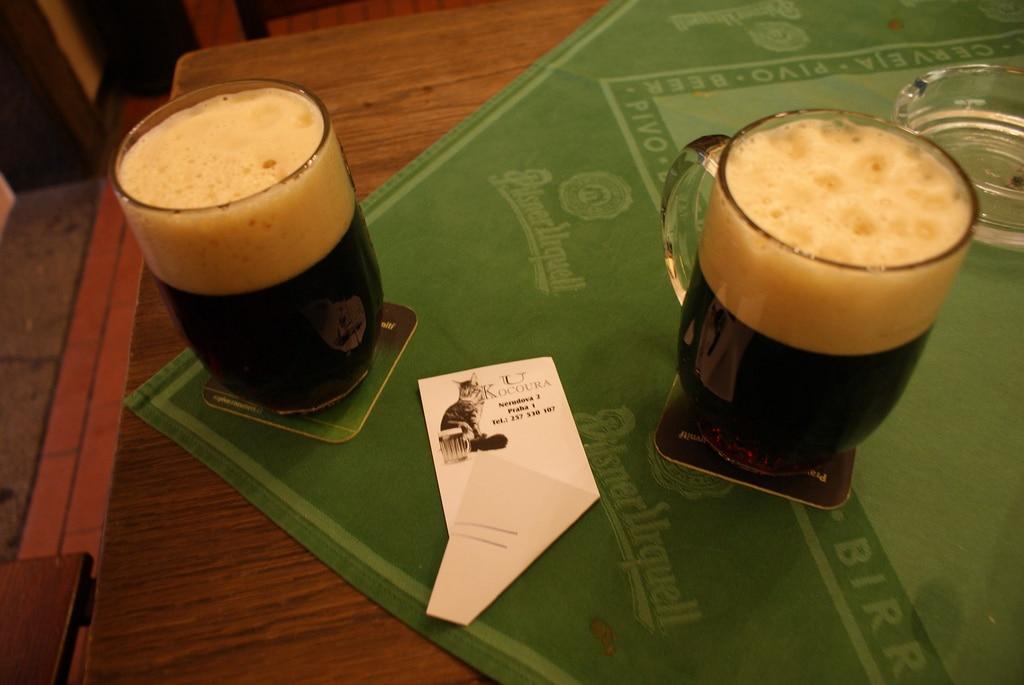 Bière tchèque et hospoda, pubs de Prague