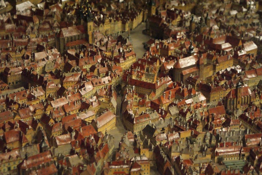 Musée d'histoire de la ville de Prague : Maquette géante !  [Nouvelle Ville]