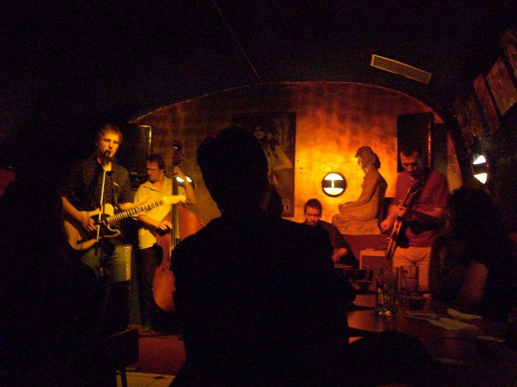 U Malého Glena, club de jazz à Prague [Mala Strana]