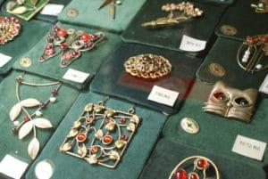 Boutique de bijoux artisanaux Obecní dům à Prague