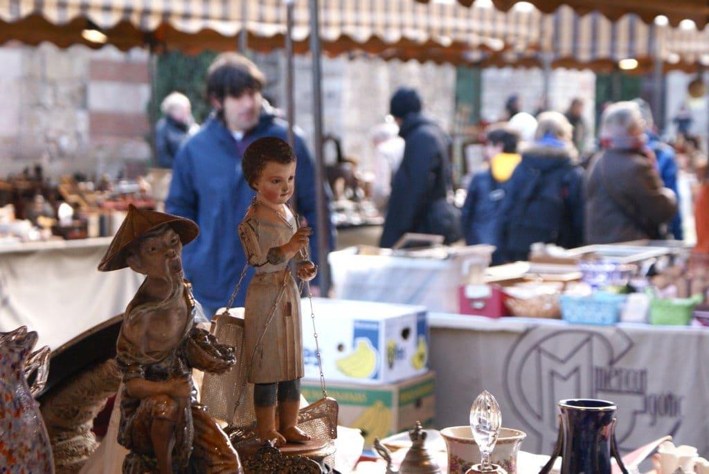 Mercat Gòtic, marché aux antiquités de Barcelone [Gotico]