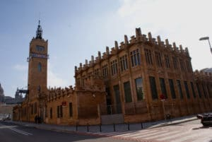 Caixa forum, centre d'exposition à Barcelone [Montjuic]