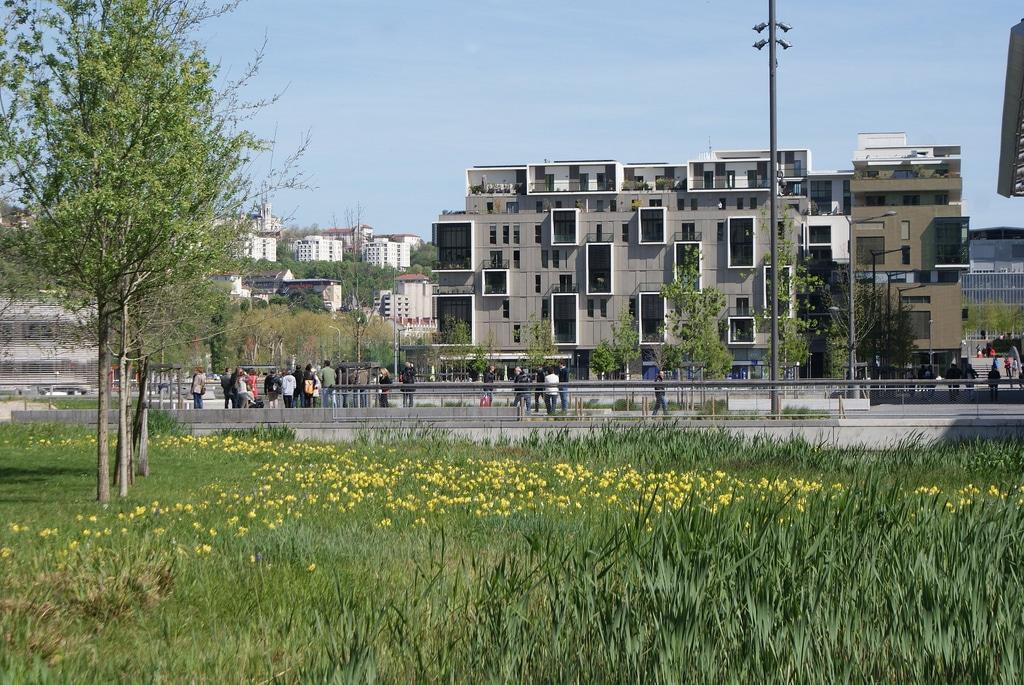 Quartiers de Confluence et de Perrache à Lyon : Projet urbanistique en cours