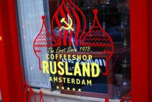 Rusland, Premier coffee shop d'Amsterdam [Vieille ville]