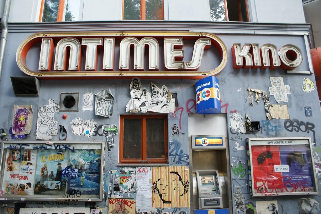 Berlin : Enseignes publicitaires vintages et typographies