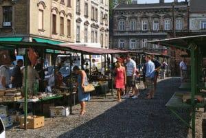 Brocante et marché d'antiquité à Cracovie [Kazimierz]