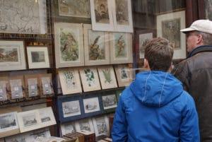 Wojtowicz à Cracovie, magasin de livres anciens et d'art [Vieille Ville]