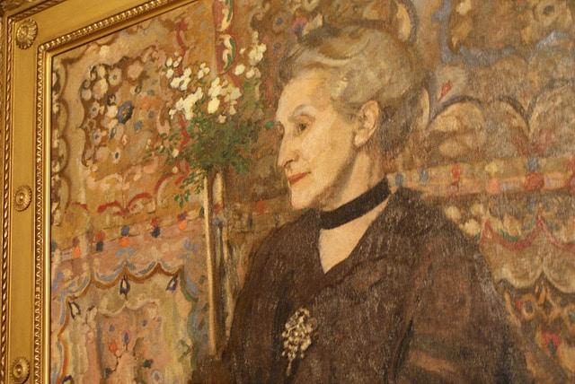 """Musée Mehoffer à Cracovie, peinture et arts decoratifs """"art nouveau"""" [Piasek]"""