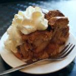 Café Winkel 43 : Gateau à la pomme + chantilly à Amsterdam [Jordaan]