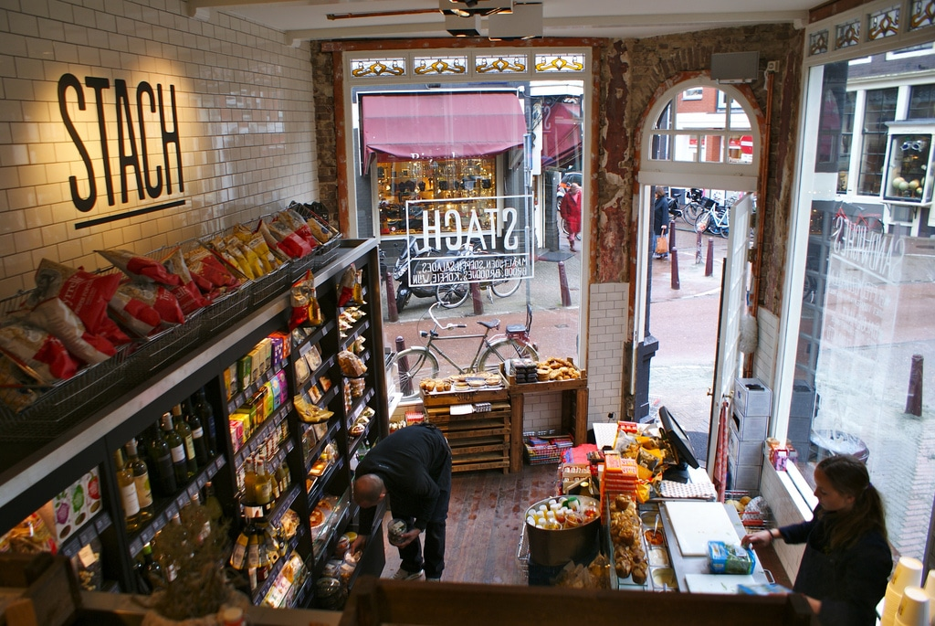 Stach, snack de qualité et épicerie fine à Amsterdam [Quartier des canaux]