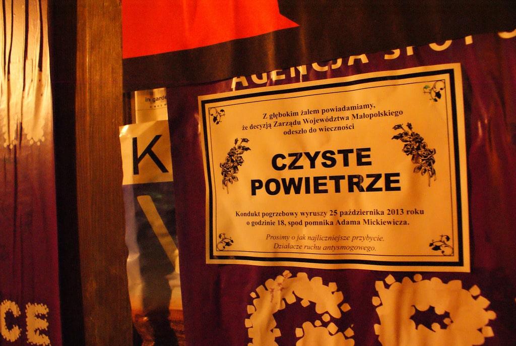 Qualité de l'air à Cracovie : Triste record
