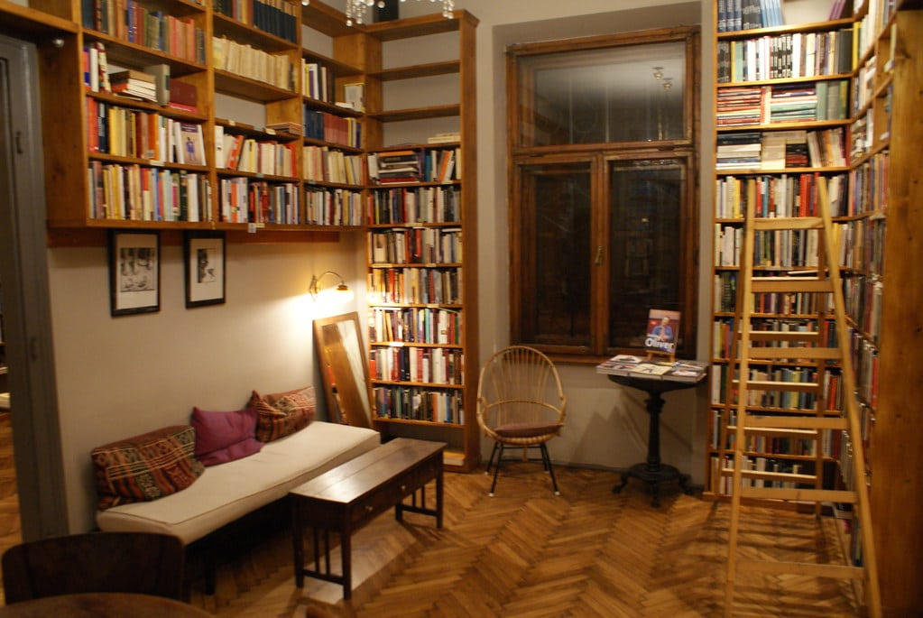 Café librairie Massolit à Cracovie