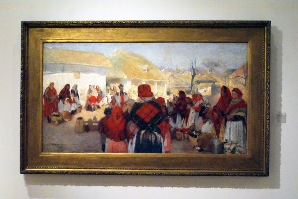 Au Musée National de Cracovie.