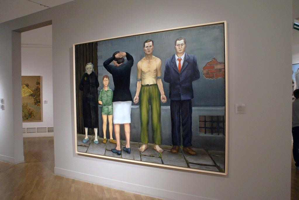 > Wrobelski au musée national de Cracovie.