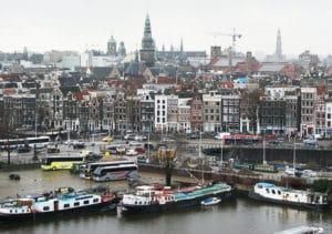 Vue panoramique d'Amsterdam : Les plus belles vues