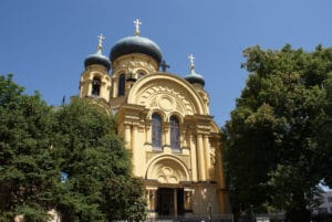 Belle église orthodoxe Sainte Marie Madeleine à Varsovie [Praga]