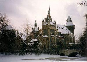 Parc Varosliget à Budapest : Le bois de ville [Zugló]