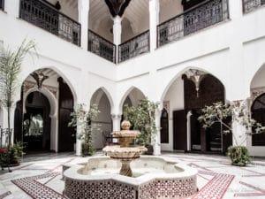 Riads de Marrakech, maison-jardin au Maroc