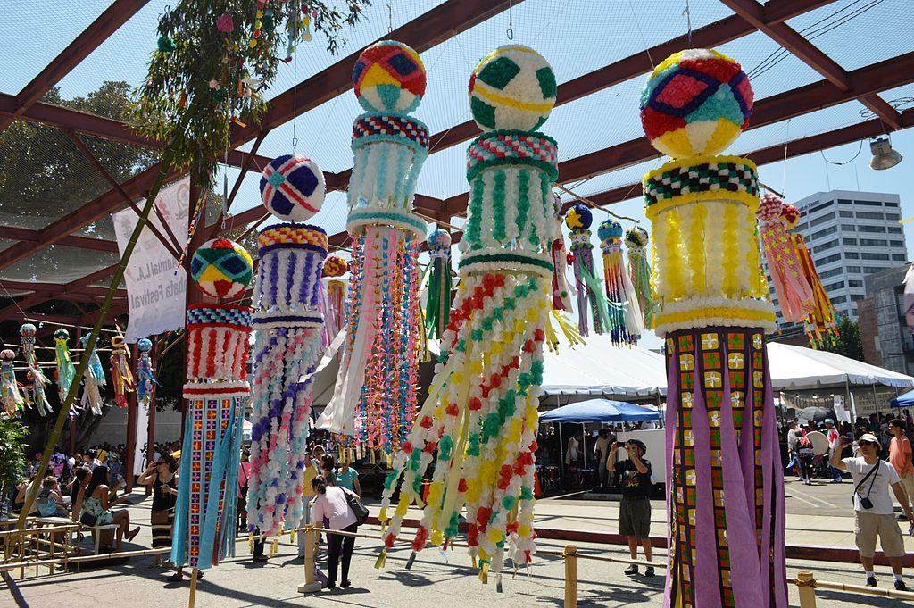 Fête japonaise dans le quartier de Little Tokyo à Los Angeles - photo de Nandaro