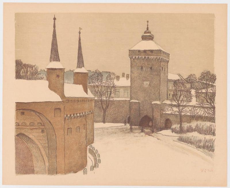 Barbakan et porte Florianska à Cracovie: Belles fortifications médievales [Vieille ville]
