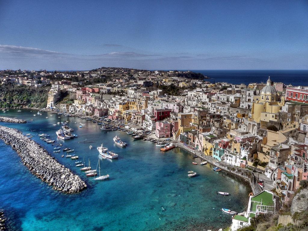Ile de Procida près de Naples ou le charme authentique de l'Italie du Sud