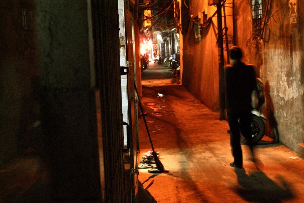Quartier secret au bord du Fleuve rouge à Hanoi [Vieux Hanoi]