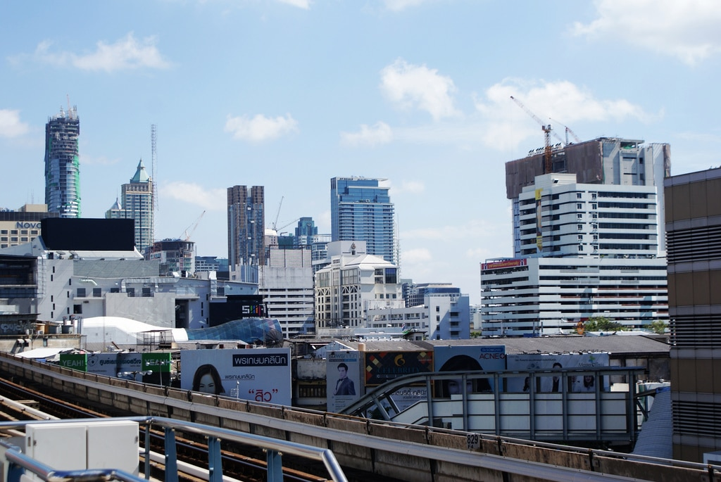 Pathum Wan : Quartier des centres commerciaux à Bangkok