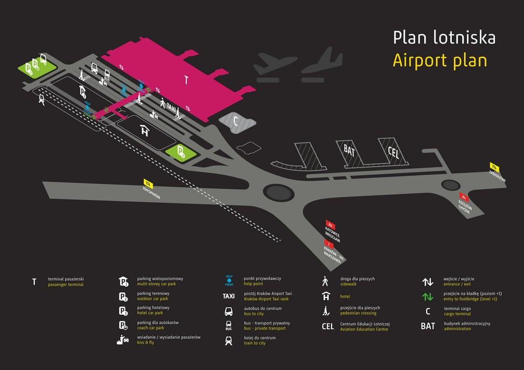 Aéroport de Cracovie : Comment rejoindre le centre ville ?